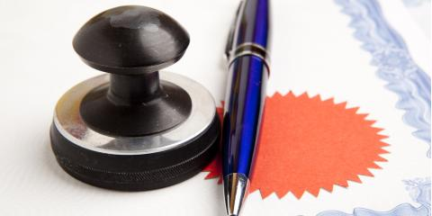 Getting a Document Notarized? A Bankruptcy Attorney Explains What You Should Bring, Clanton, Alabama