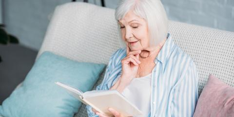 Happy Library Lover's Month! 3 Benefits of Reading for Seniors, St. Charles, Missouri