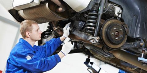 How Car Suspension Systems Work, De Soto, Missouri