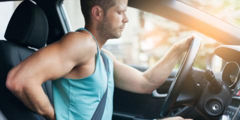 3 Ways to Mitigate Back Pain While Driving, Campton, Georgia