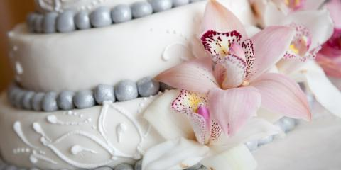 4 Fresh Flower Ideas for Wedding Cakes, Waimea, Hawaii