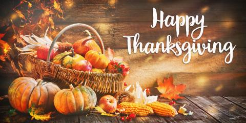Happy Thanksgiving from Concord Technology Group, Concord, Ohio