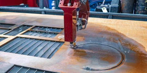 An Introduction to Water-Jet Cutting, Kahului, Hawaii