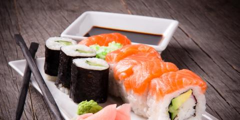 3 Items Sushi is Commonly Served With, ,