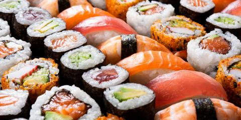5 Popular Types of Sushi, Sumner, North Carolina