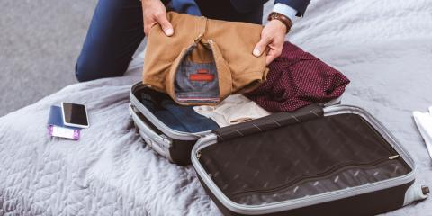 How to Fold Dress Clothes for Travel, Cincinnati, Ohio