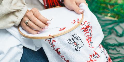 Why You Should Learn Embroidery, Anchorage, Alaska