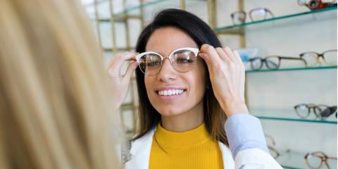 How to Choose the Right Eyeglasses for Your Face, High Point, North Carolina