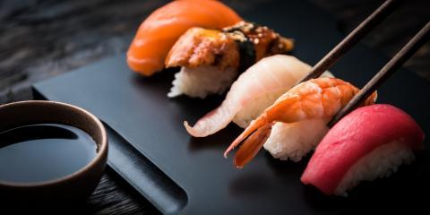 4 Health Benefits of Eating at a Sushi Bar, Honolulu, Hawaii