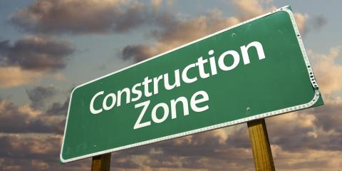 Construction Services Company Lists 5 Facts About Work Zone Areas, Bakerhill, Alabama