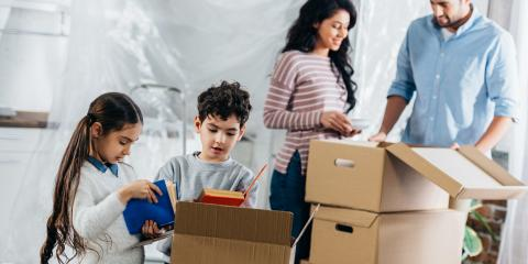 3 Ways to Keep Kids Occupied During a Move, Rochester, New York