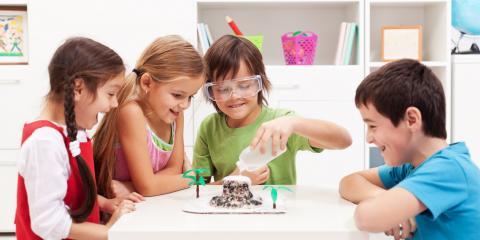 New Science Enrichment Program at Lucky Lane Nursery School, Creve Coeur, Missouri