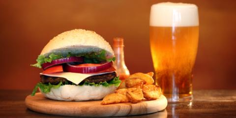 Burgers & Beer: Why They're a Sports Bar Staple, Cincinnati, Ohio