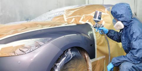 Auto Body Shop Reveals How Computerized Paint Matching Works, Springfield, Ohio