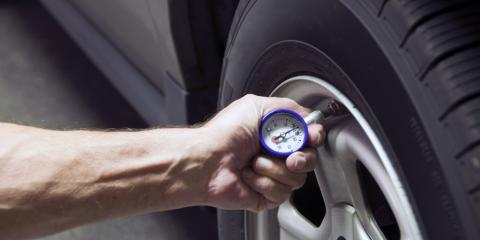 Why It's So Important to Check Your Tire Pressure, Livonia, New York