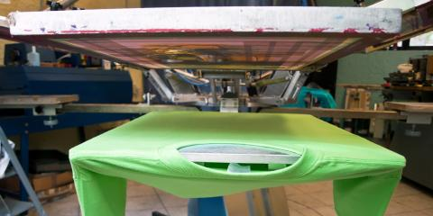 3 Noteworthy Benefits of Screen Printing, Kalispell, Montana