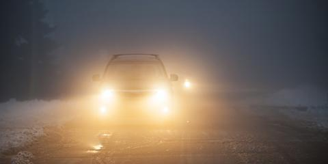 Tips for Driving Safely in Heavy Fog, Issaquah Plateau, Washington