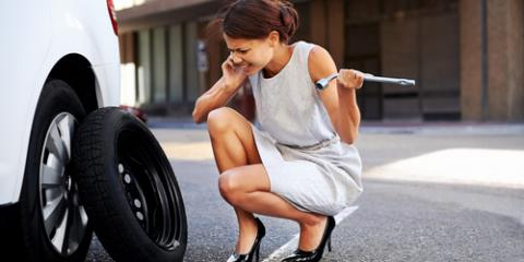 Follow These Steps to Handle a Flat Tire, Weymouth Town, Massachusetts