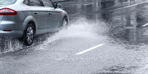 How to Avoid Hydroplaning in the Rain, Kannapolis, North Carolina