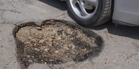 Top Naples Pavers Explain How Potholes Form, Naples, New York