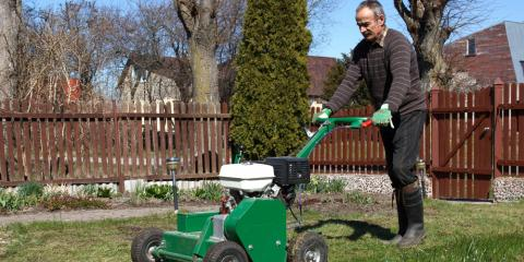 4 Benefits of Lawn Aeration , ,