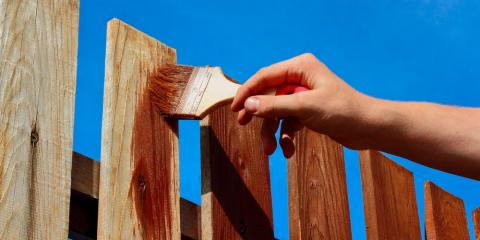 4 Helpful Tips for Staining a Wood Fence, Deep River, North Carolina