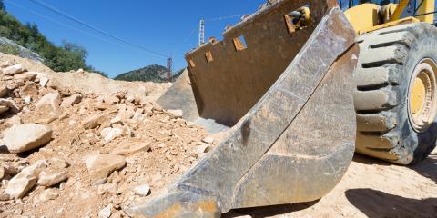 3 Common Pieces of Excavation Equipment, Dover, New York