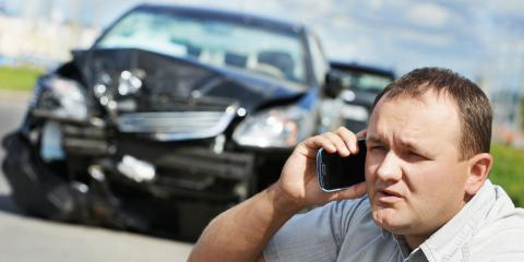 Handling an Accident in a Car Rental, Mountain Home, Arkansas