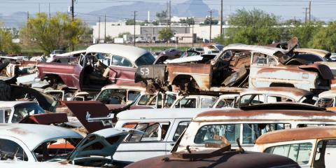 How to Maximize an Auto Salvage Yard Visit, Cincinnati, Ohio