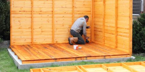 Why Winter Is the Ideal Season for Building Storage Sheds, Slocomb, Alabama