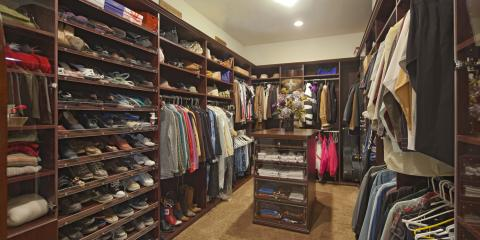 What Features Does a Walk-In Closet Island Need?, Covington, Kentucky