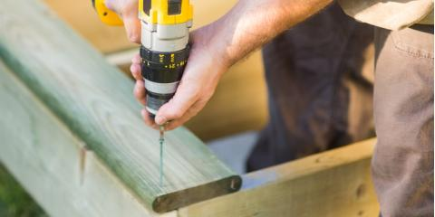 Local Lumber Experts Share Building Materials You'll Need to Revitalize Your Deck, Hamilton, Ohio