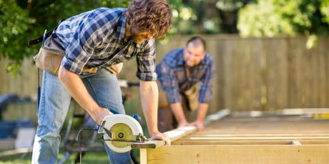3 Ways a New Deck Will Improve Your Home, Washington, Wisconsin