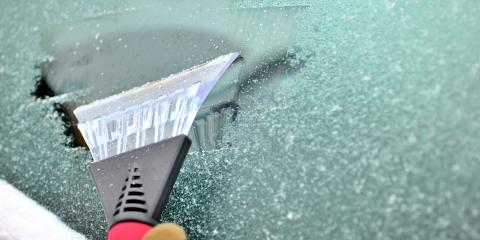 How to Deal With an Icy Windshield, Lincoln, Nebraska