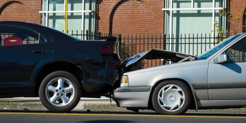 5 Types of Fender Bender Damage, Covington, Kentucky