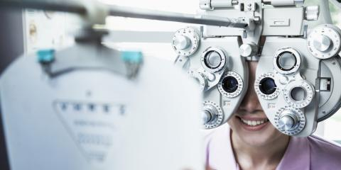 When Does a Vision Test Become a Medical Exam?, West Chester, Ohio
