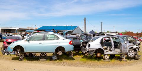4 Signs It's Time to Take Your Car to the Junkyard, Anchorage, Alaska