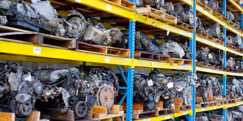 5 Reasons to Buy Car Parts from a Salvage Yard, Louisville, Kentucky