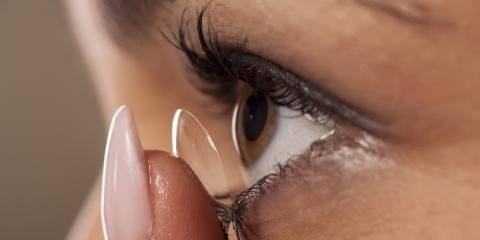What to Do If Your Contact Lenses Get Stuck, Fairfield, Ohio