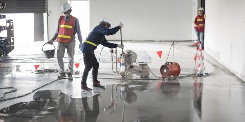 A Guide to Polished Concrete Floor Maintenance, Monroe, Ohio