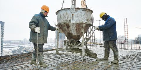 Why Is it Harder to Pour Concrete in Winter?, Wallingford Center, Connecticut