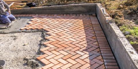 3 Reasons to Build Your Patio With Concrete Pavers, East Yolo, California