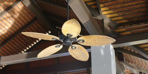 Electrician Lists 3 Reasons to Use a Ceiling Fan With HVAC Units, Dayton, Ohio