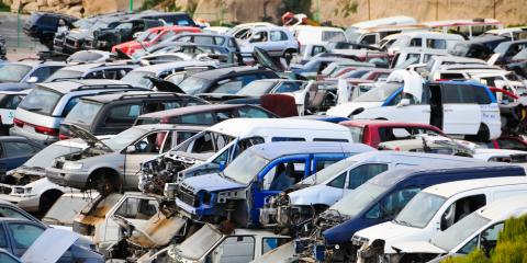 Need Used Car Parts? Go to a Salvage Yard!, Goshen, Ohio