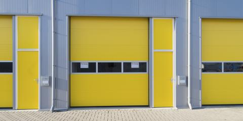 4 Signs It's Time to Replace Commercial Garage Doors, Rochester, New York