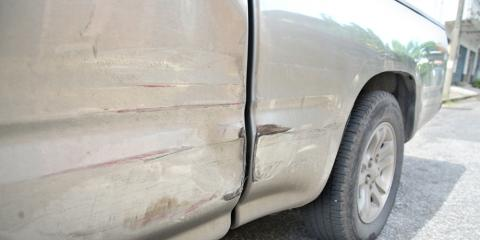 Auto Body Shop Explains 3 Reasons to Repair Vehicle Dents, Texarkana, Texas