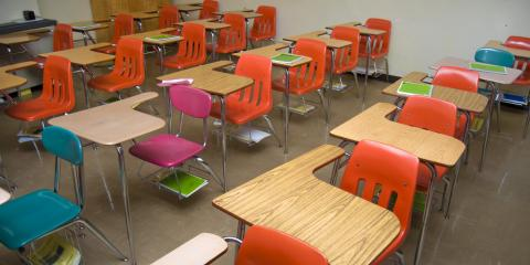 Commercial Cleaning Service Professionals Share Tips to Keep School Desks Tidy, Montgomery, Ohio