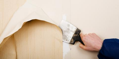 3 Wallpaper Removal Tips From a Painter, Greenhills, Ohio