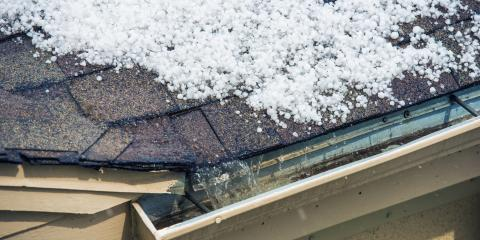 5 Ways Hail Can Damage a Roof, McKinney, Texas
