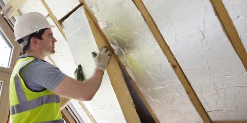 3 Different Attic Insulation Materials, Middletown, Ohio